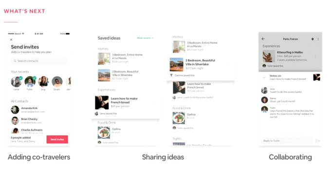 Airbnb shows off new collaboration features that let co
